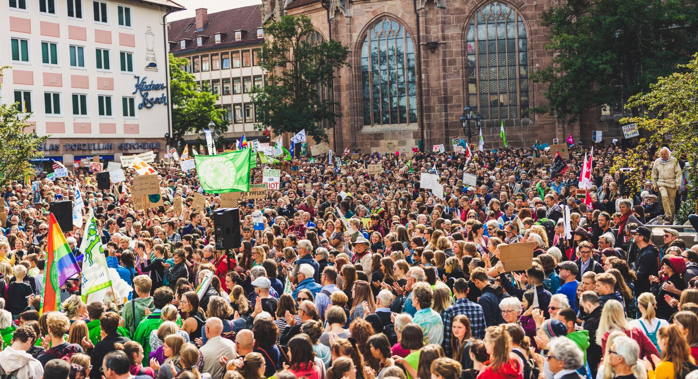 تظاهرات های نسل جدید