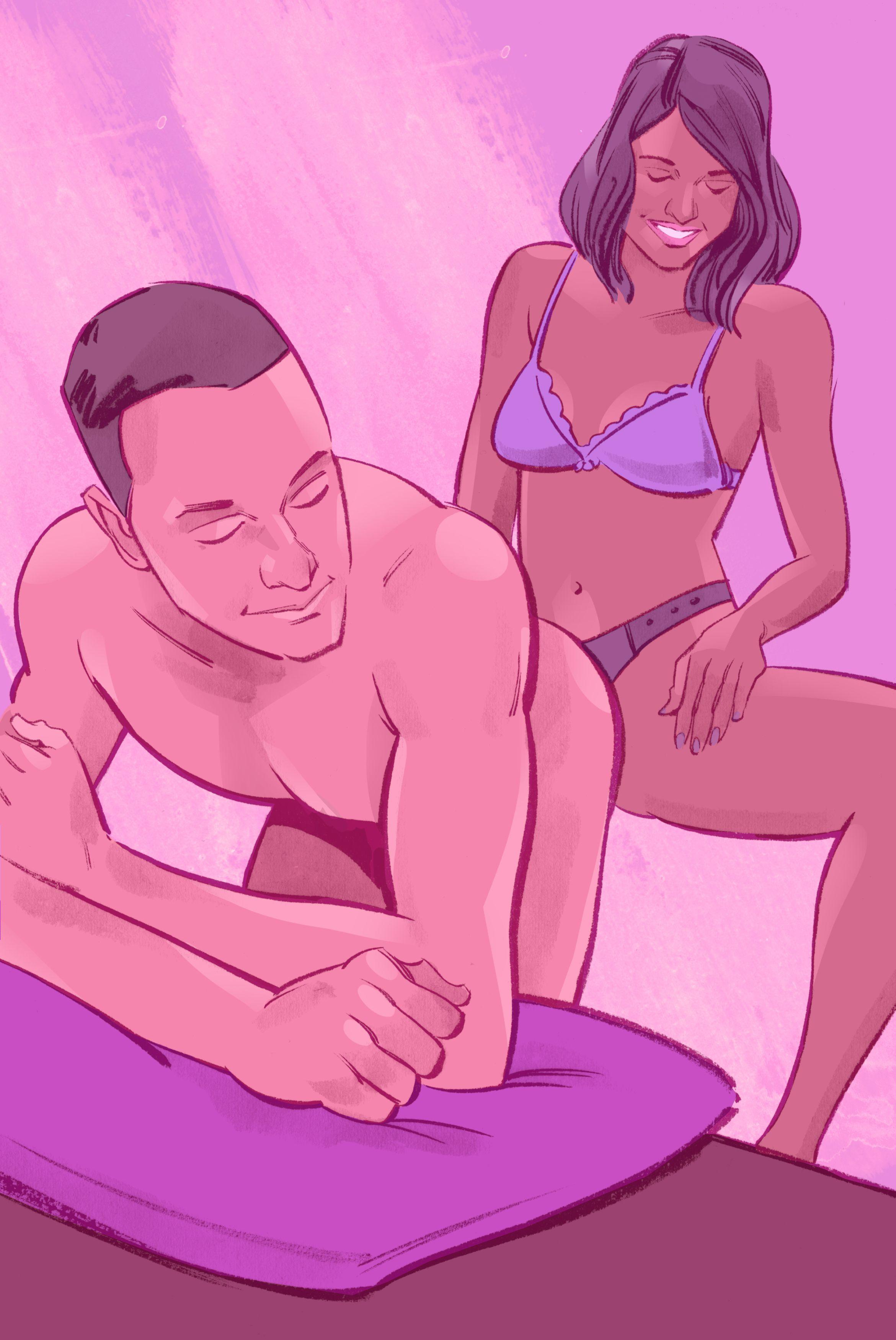 پوزین پگینگ - نقطه جی در مردان یا نقطه پی