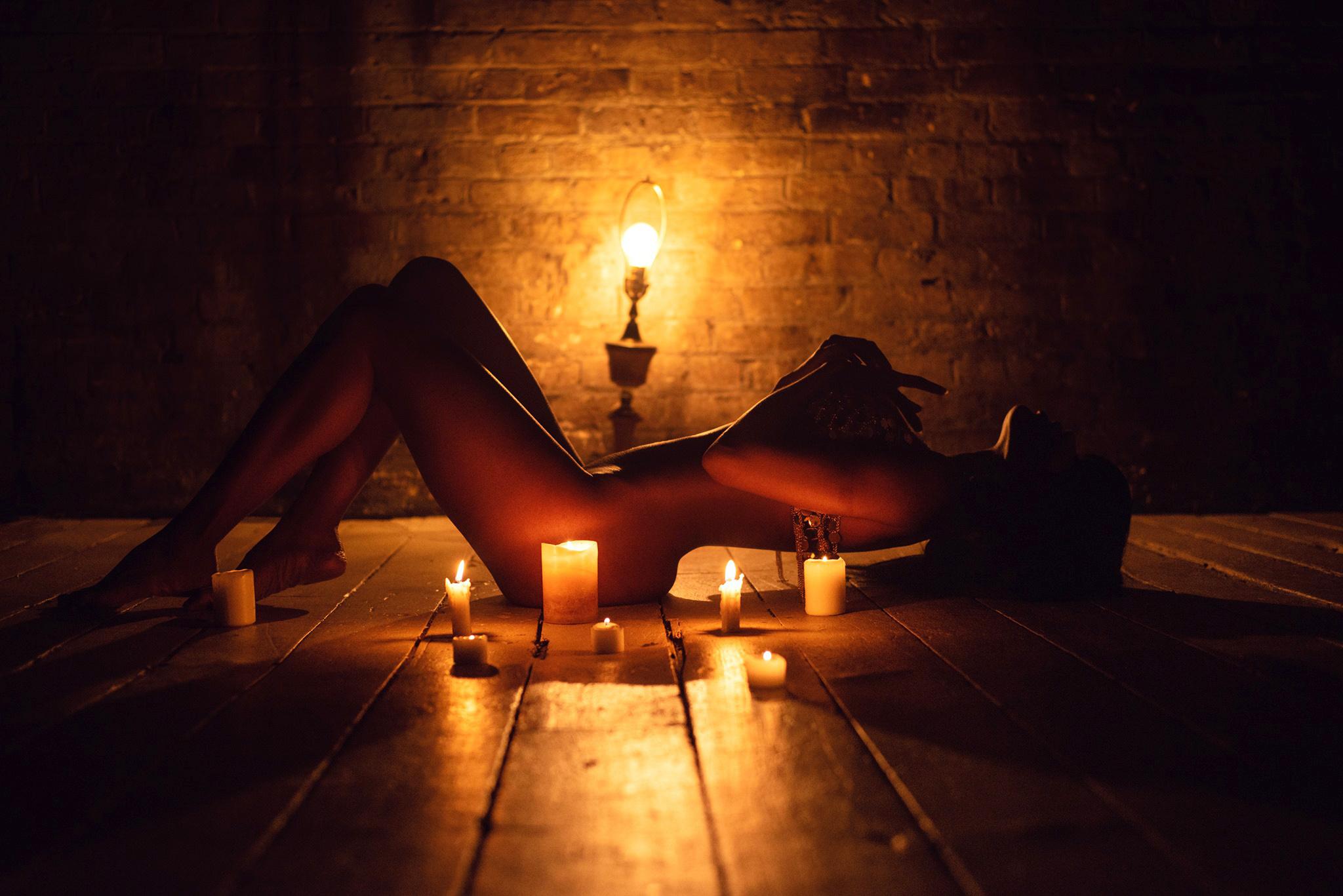 شمع  بازی در رابطه ارباب و برده